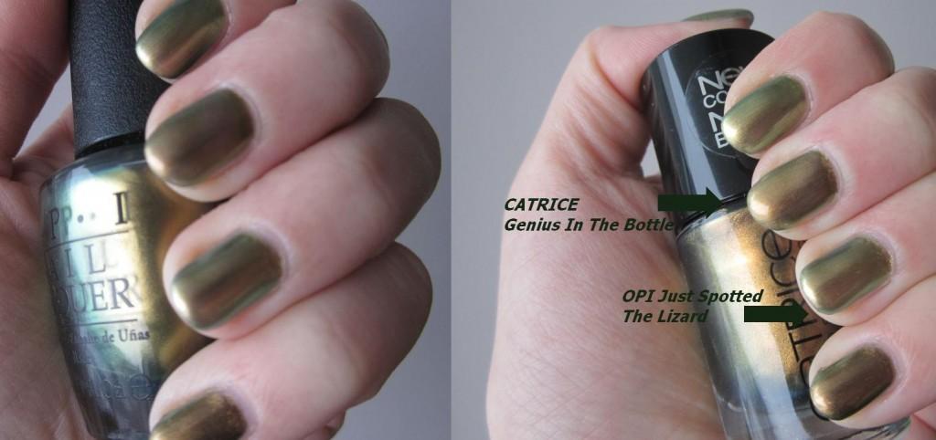 Opi vs Catrice 2