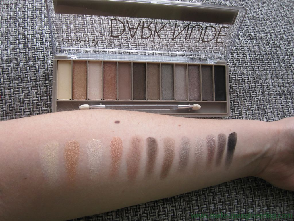 Lovely Paleta Dark Nude 008
