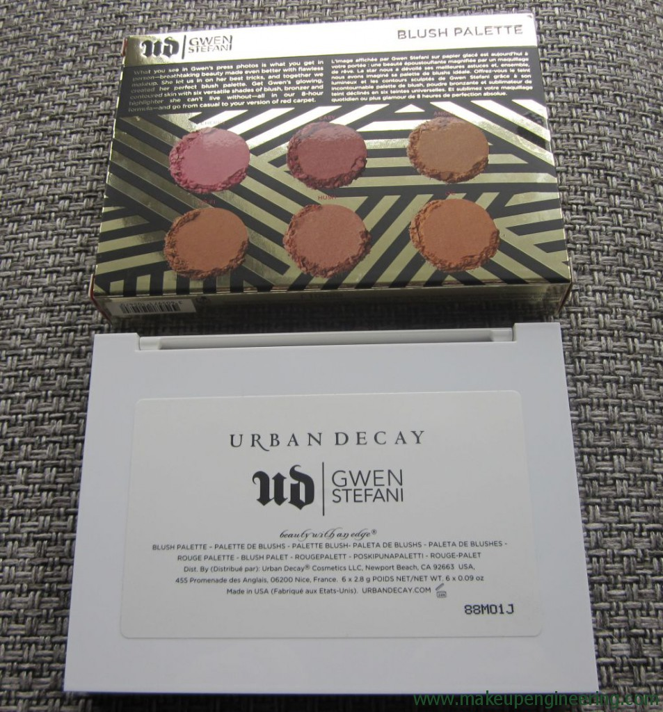 UD Gwen Stefani Blush Palette 002