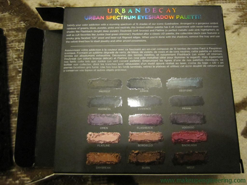 Urban Decay Spectrum Palette 005
